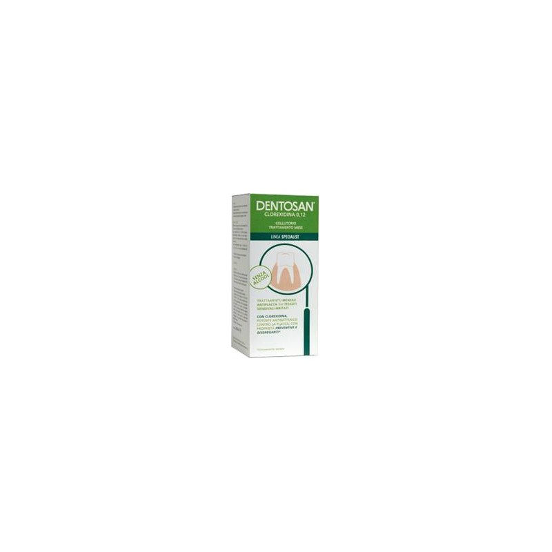 DENTOSAN - collutorio trattamento mese Clorexidina 0,12% 500 ml