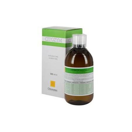 CITOZEATEC - citozym - sciroppo 500 ml integratore per stimolare le difese immunitarie