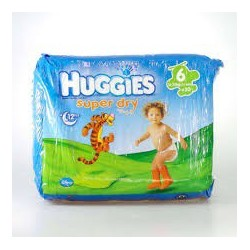 super dry XL 20 pannolini per bambini da 16 a 30 kg