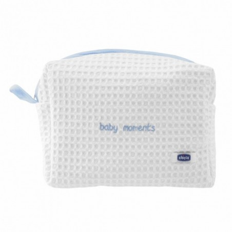 Chicco - Set Per Il Bagnetto Baby Moments Beauty Azzurro