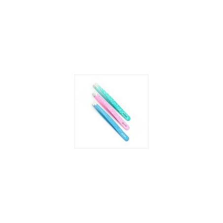 CLAMAS - pinza per sopracciglia rostfrei colorate punta dritta in acciaio