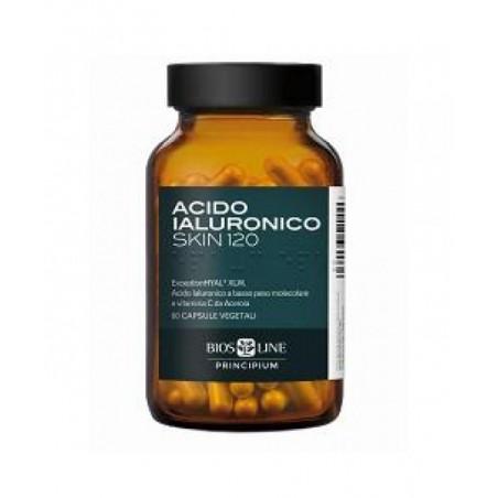 BIOS LINE - principium ial skin 120  - integratore alimentare con acido ialuronico 60 compresse