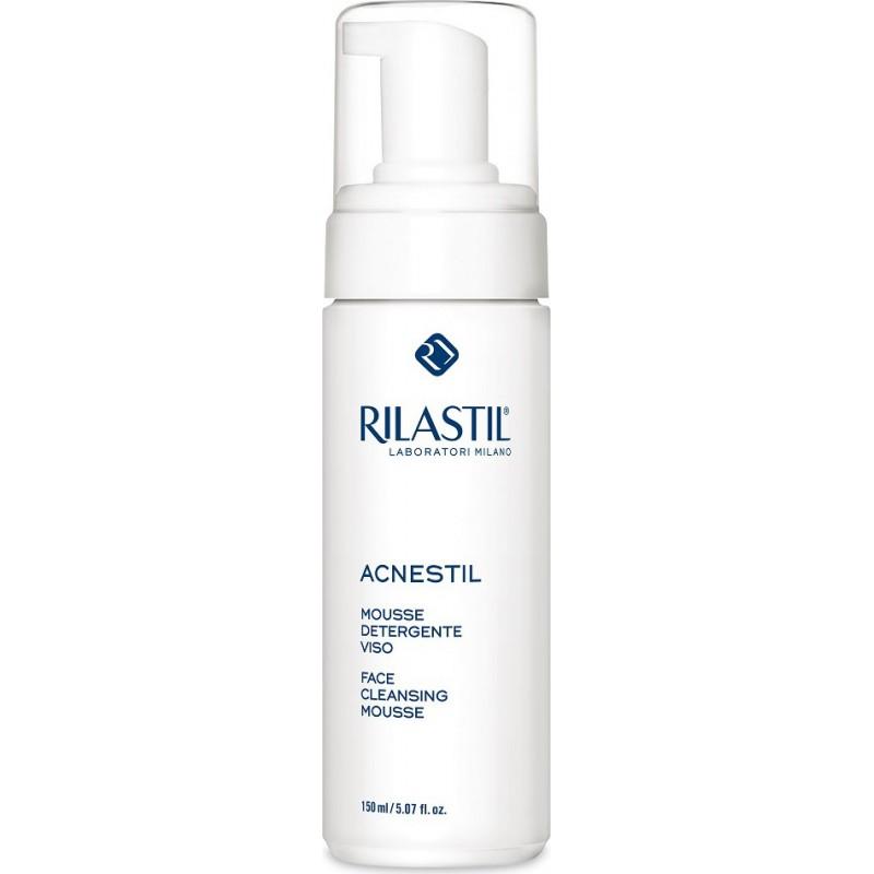 RILASTIL - acnestil mousse detergente viso pelli a tendenza acneica 150 ml