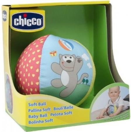 Chicco - gioco soft ball pallina morbida per bambini 6m+
