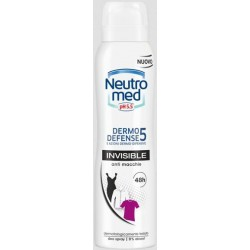dermo defence 5 - deodorante invisible spray 150 ml