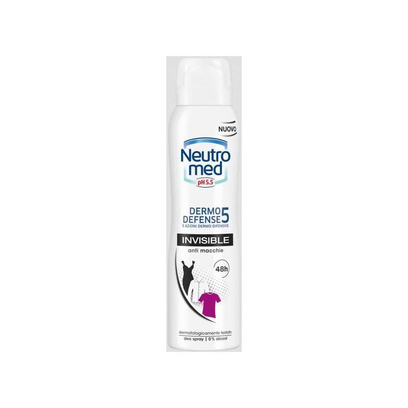 NEUTROMED - dermo defence 5 - deodorante invisible spray 150 ml