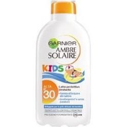 ambre solaire latte solare bambini resisto spf 30 protezione alta  200 ml