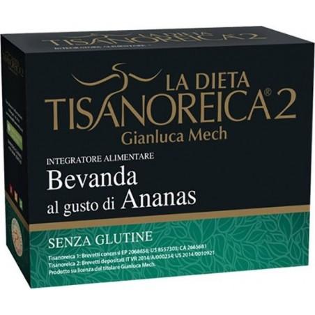 GIANLUCA MECH - tisanoreica 2 bevanda dietetica al gusto ananas 28g 4 buste