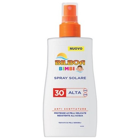 Bilboa - bimbi spray solare antiscottature spf 30 protezione alta  200 ml