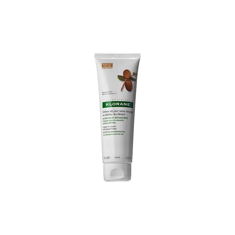 Klorane - crema quotidiana senza risciacquo al dattero del deserto capelli secchi 125 ml