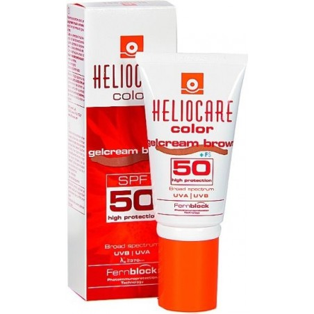 DIFA COOPER - Heliocare color gelcream brown - crema colorata protezione solare viso Spf50 50 ml