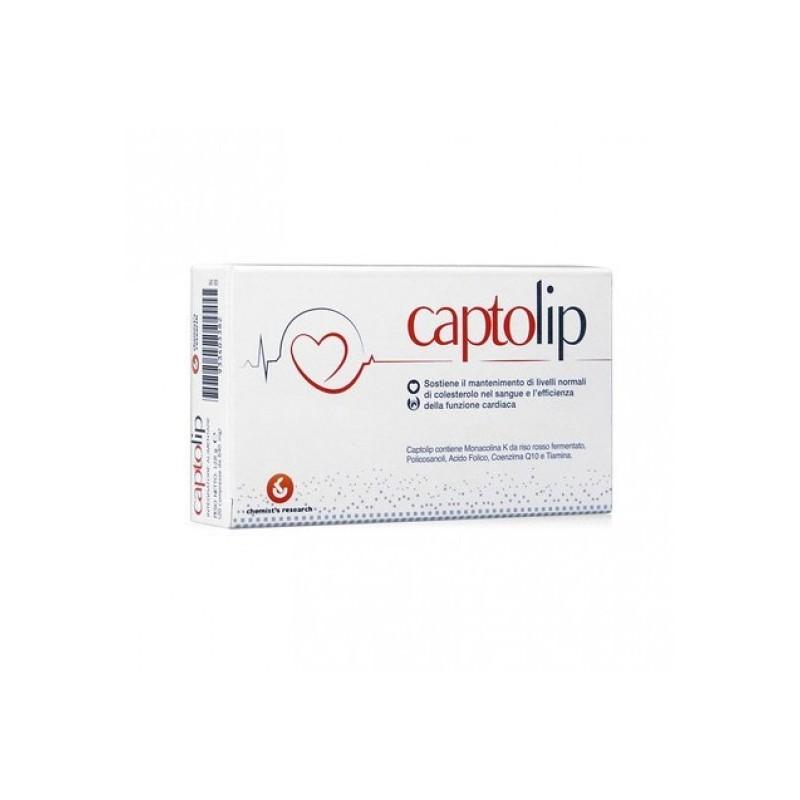 CHEMIST S RESEARCH - Captolip Integratore Alimentare per il Colesterolo 24 Compresse