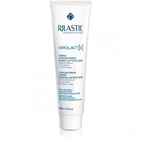 RILASTIL - xerolact crema concentrata sodio lattato 30% idratante lenitivo corpo 40 ml