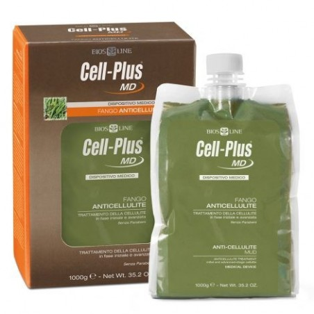 BIOS LINE - Cell-Plus MD Fango Anticellulite Effetto Caldo 1 Kg