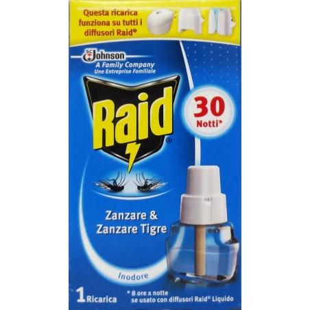 RAID - Liquido antizanzare ricarica per 30 notti