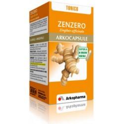 zenzero arkocapsule 45 compresse - integratore alimentare per il recupero psicofisico