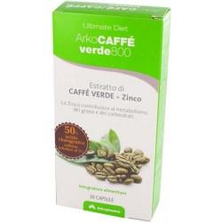 arkocaffè verde 800 30 capsule - integratore alimentare a base di estratto di caffe verde e zinco