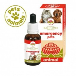 emergency pets australian bush flower essences gocce 30 ml