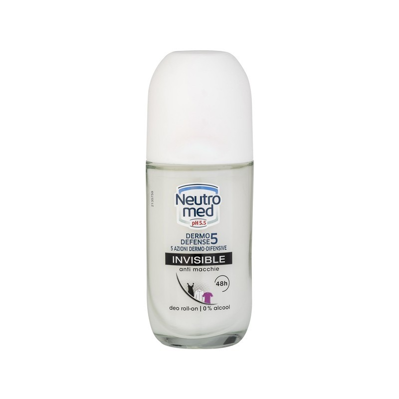 NEUTROMED - dermo defense 5 invisible - deodorante roll on 50 ml