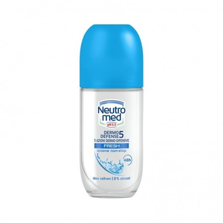 NEUTROMED - deodorante dermo defense 5 fresh roll on  50 ml