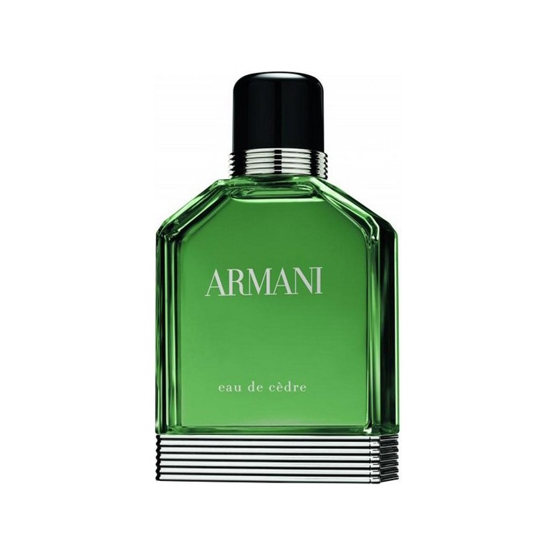 GIORGIO ARMANI - eau de cèdre  - Eau de toilette uomo  100 ml vapo