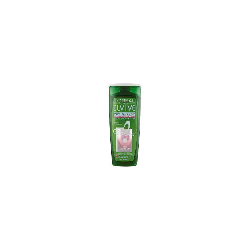 ELVIVE - Phytoclear - Shampoo Antiforfora Lenitivo per Cute Sensibile 250 ml
