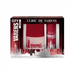 Cofanetto varens City London Eau de Toilette uomo 50ml + Deodorante 50ml