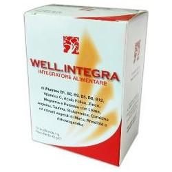 wellintegra abros 12 bustine 48 g - integratore alimentare ad azione tonico rigenerante