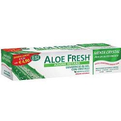 dentifricio aloe fresh menta crystal gel con cristalli 100 ml