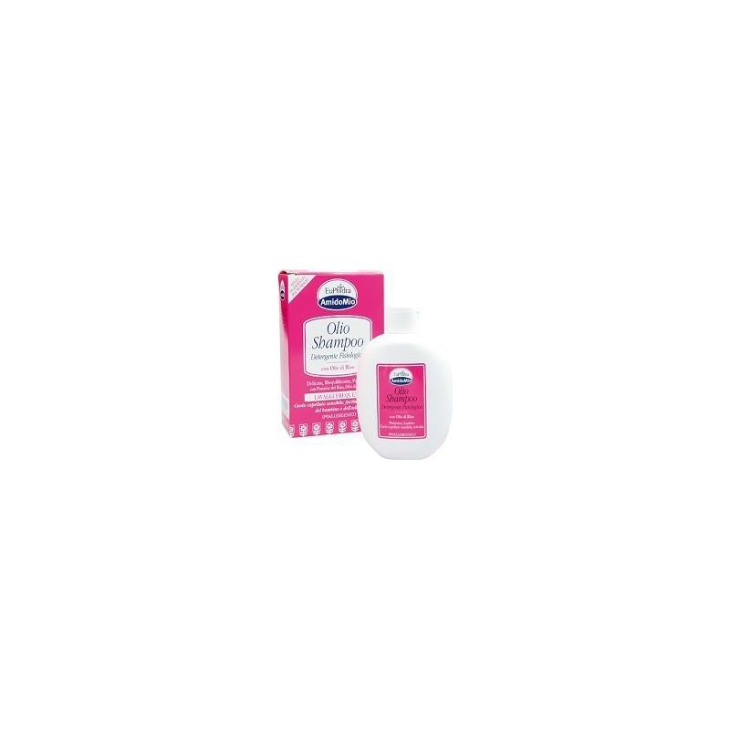 EUPHIDRA - amidomio shampoo - olio detergente con olio di riso 200 ml