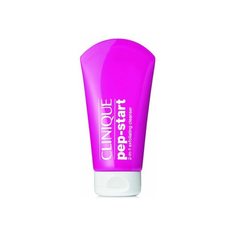 Clinique - pep start 2-in-1 exfoliating cleanser - detergente esfoliante 125 ml