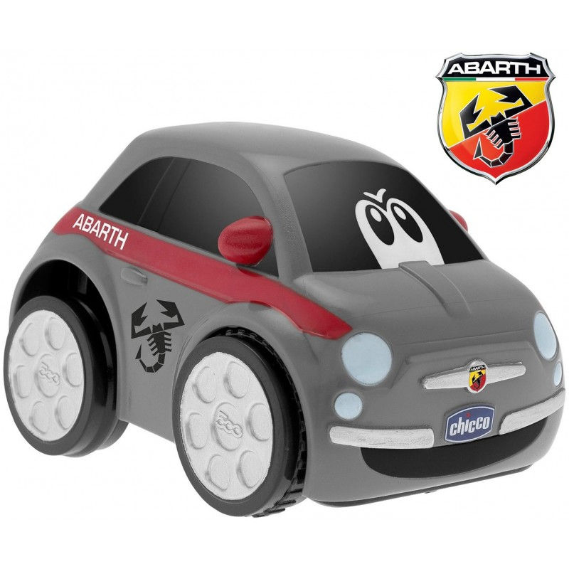 Chicco - Turbo touch Fiat 500 Abarth Macchina Elettronica
