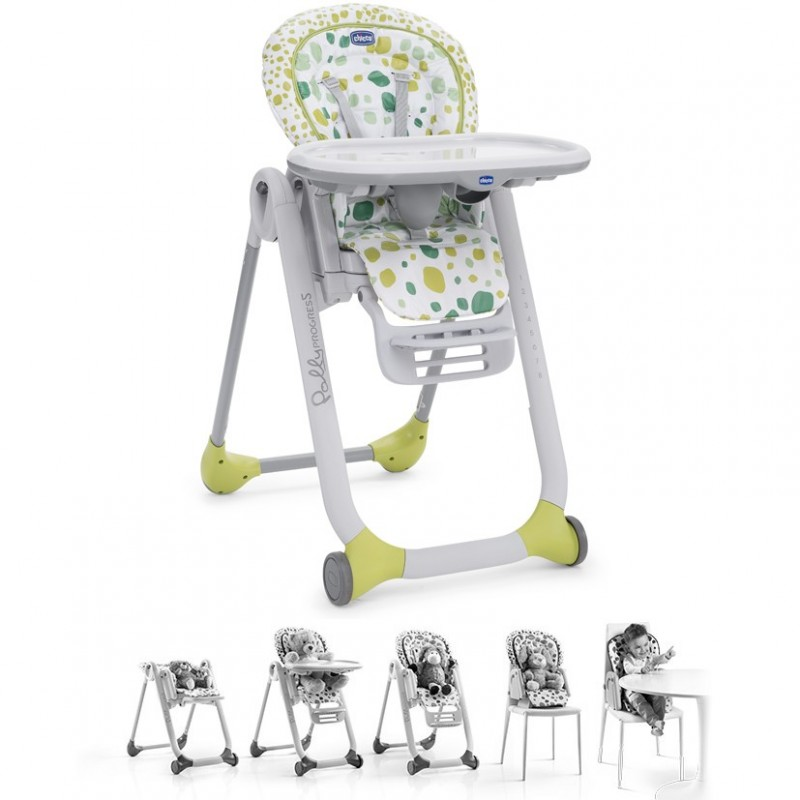 Chicco 05079065650000/Polly 2-in-1/Dolly Highchair