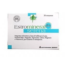 estromineral serena plus 30 compresse integratore per la donna in menopausa