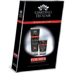 Cofanetto Boston For Men Legni Mediterranei - Doccia Shampoo 250 ml + Emulsione Dopobarba 75 ml