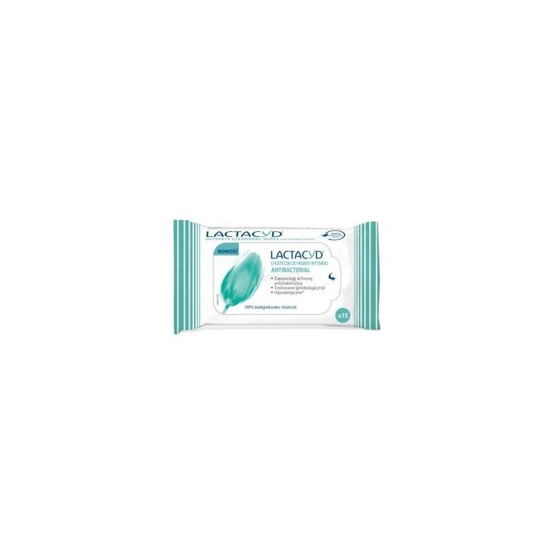 LACTACYD - salviettine intime con anti batterico 1 confezione 15 pezzi