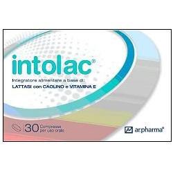 Intolac 30 Compresse - Integratore Alimentare Specifico In Caso Di Intolleranza Al Lattosio