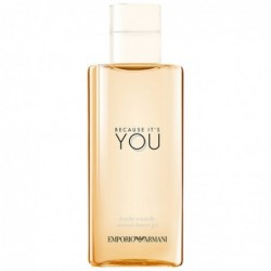 emporio armani because it s you - shower gel 200 ml