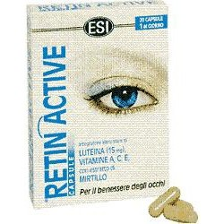 Retin Active 20 Capsule - Integratore Alimentare Per La Vista Antiossidante
