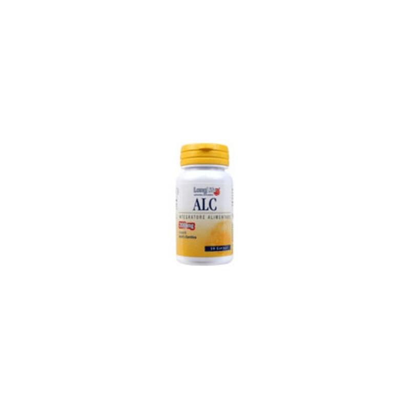 LONGLIFE - Integratore Alimentare Antiossidante A Base Di Acetil L Carnitina Alc 60 Capsule 500 Mg