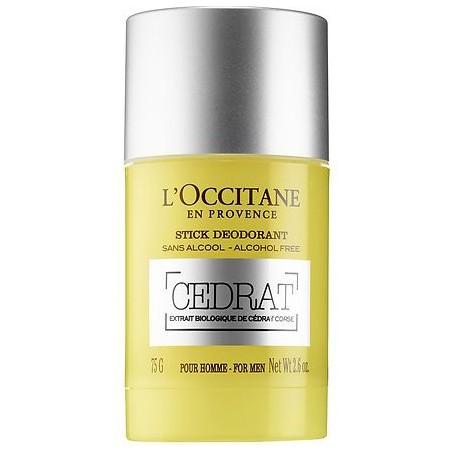 L'OCCITANE - deodorante stick cédrat 75 gr