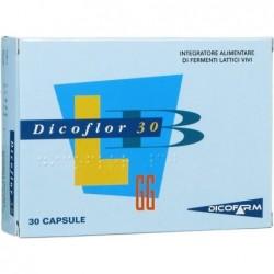 dicoflor 30 fermenti 30 capsule - integratore alimentare a base di probiotici