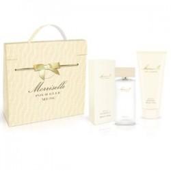 cofanetto morriselle pour elle musc - eau de parfum 100 ml + body shower gel 200 ml