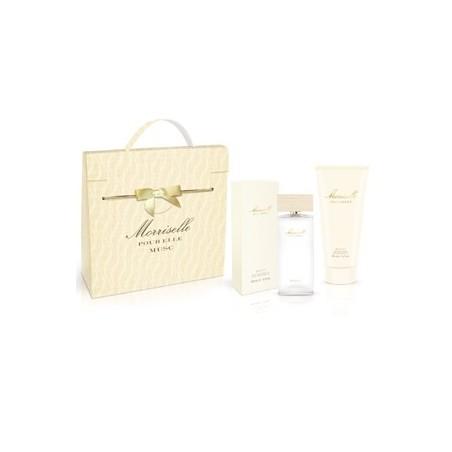 MORRIS - cofanetto morriselle pour elle musc - eau de parfum 100 ml + body shower gel 200 ml