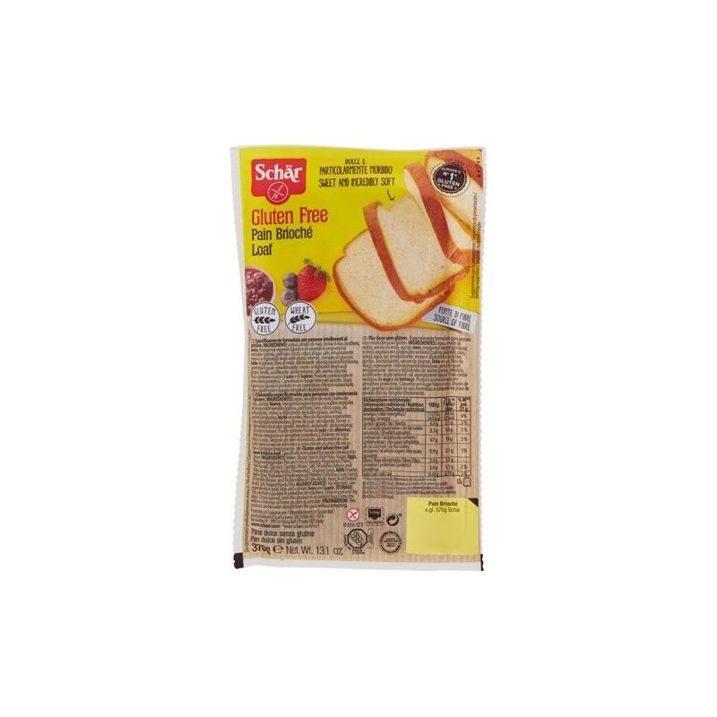 Schar - pain brioché pane dolce senza glutine 370 g