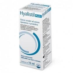 hyalistil plus gocce oculari sterili protettive ed idratanti 10 ml