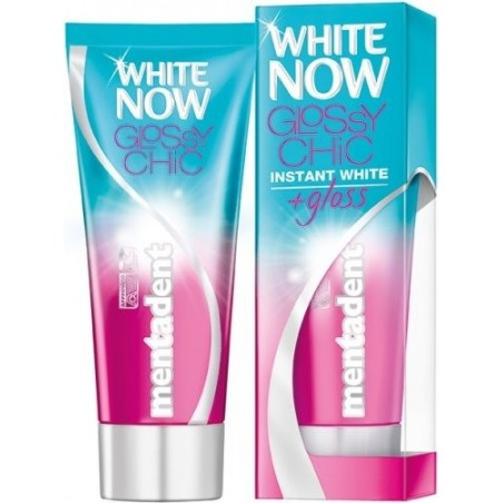 Mentadent - white now glossy chic dentifricio 50 ml