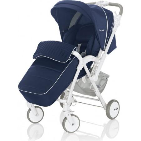 Brevi - passeggino reclinabile verso 239 colore blu 0m+