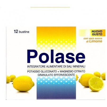 POLASE - integratore alimentare gusto limone 10 bustine