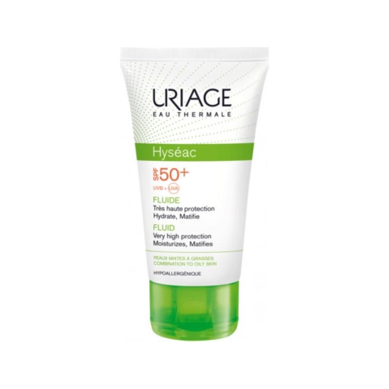 URIAGE - hyséac - fluido protezione solare pelle mista e grassa spf 50+ 50ml